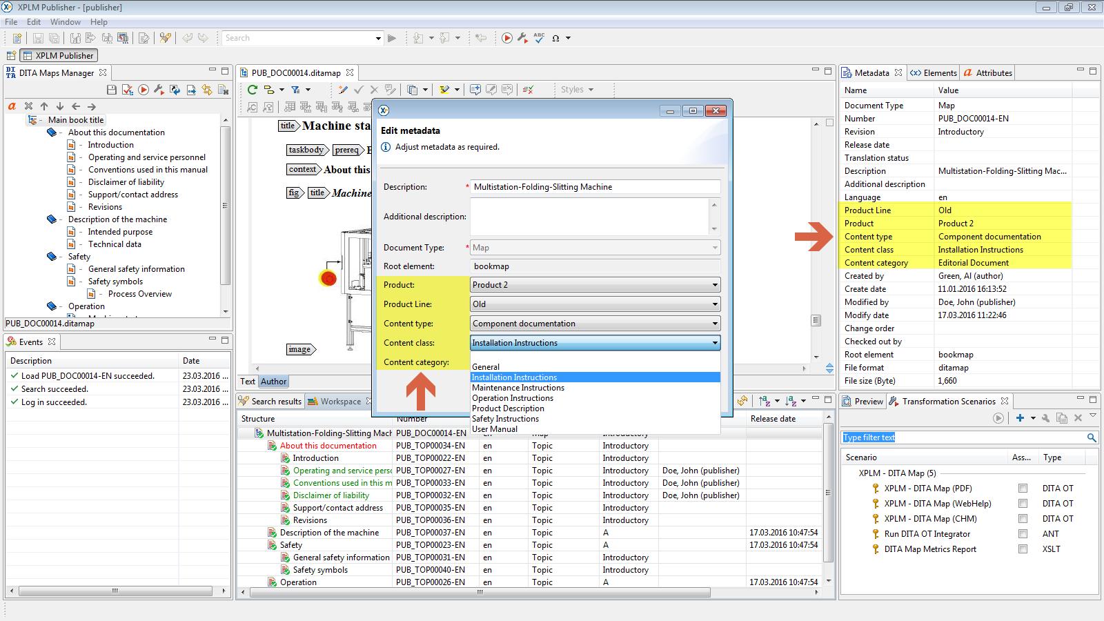 XPLM · Integration with Oracle Agile PLM